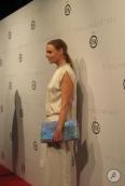 Stella Mc Cartney en la alfombra roja.