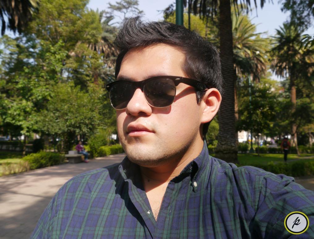 Ray-Ban sunglasses & Ralph Lauren shirt