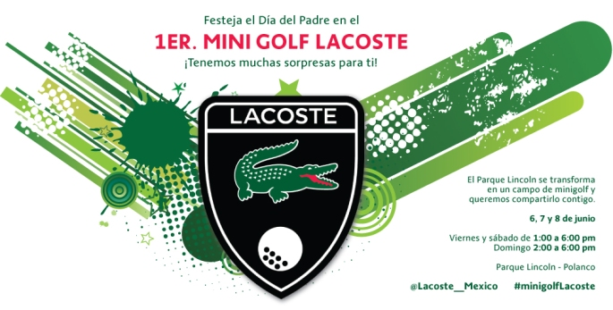 Invitación Mini Golf gral