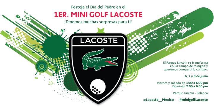 Invitación Mini Golf gral